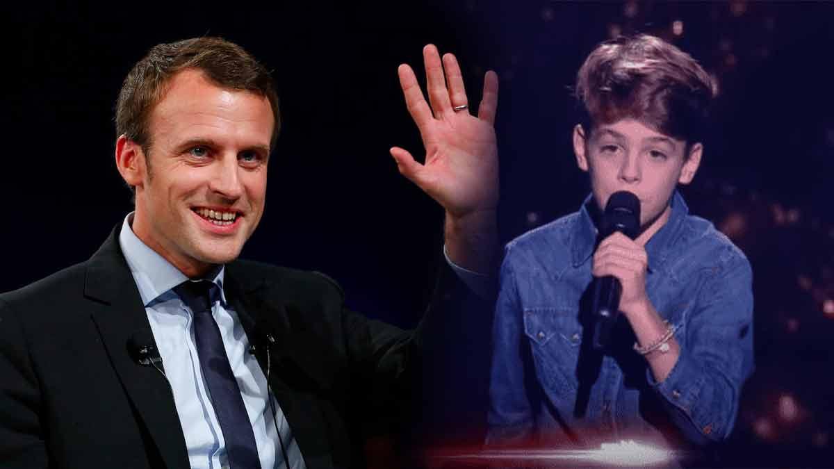 The Voice Kids : message à Emmanuel Macron ? Grosse émotion sur le plateau !