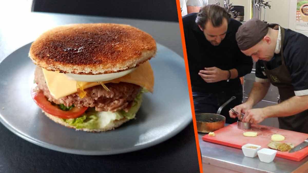 Top Burger : découvrez la recette inédite de Cyril Lignac !