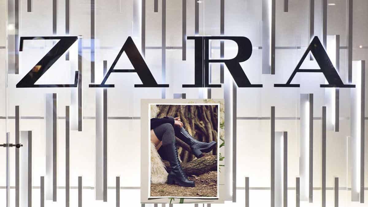 Zara une pièce hyper tendance : découvrez le cuir !