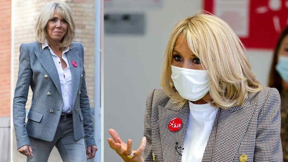 Brigitte Macron top tendance ! Son look pour la journée ELA tape dans l'œil des médias !