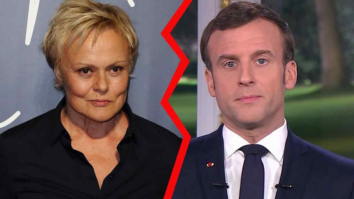 Emmanuel Macron snobe Muriel Robin ! Gros clash en direct !