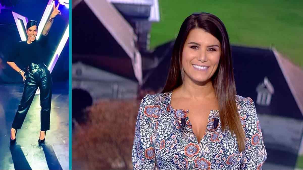 "Final ""The Voice Kids"": Karine Ferri très belle en look !"