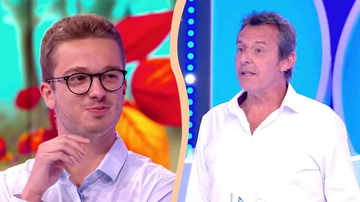 """Léo """"Les 12 coups de midi"""" en larme sur le plateau ! Méga surprise de la part de Jean-Luc Reichmann !"""