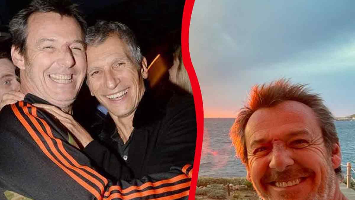Photo exclusive : Nagui dans les bras de Jean-Luc Reichmann ! Les internautes sont indignés !