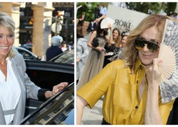 Brigitte Macron et Céline Dion
