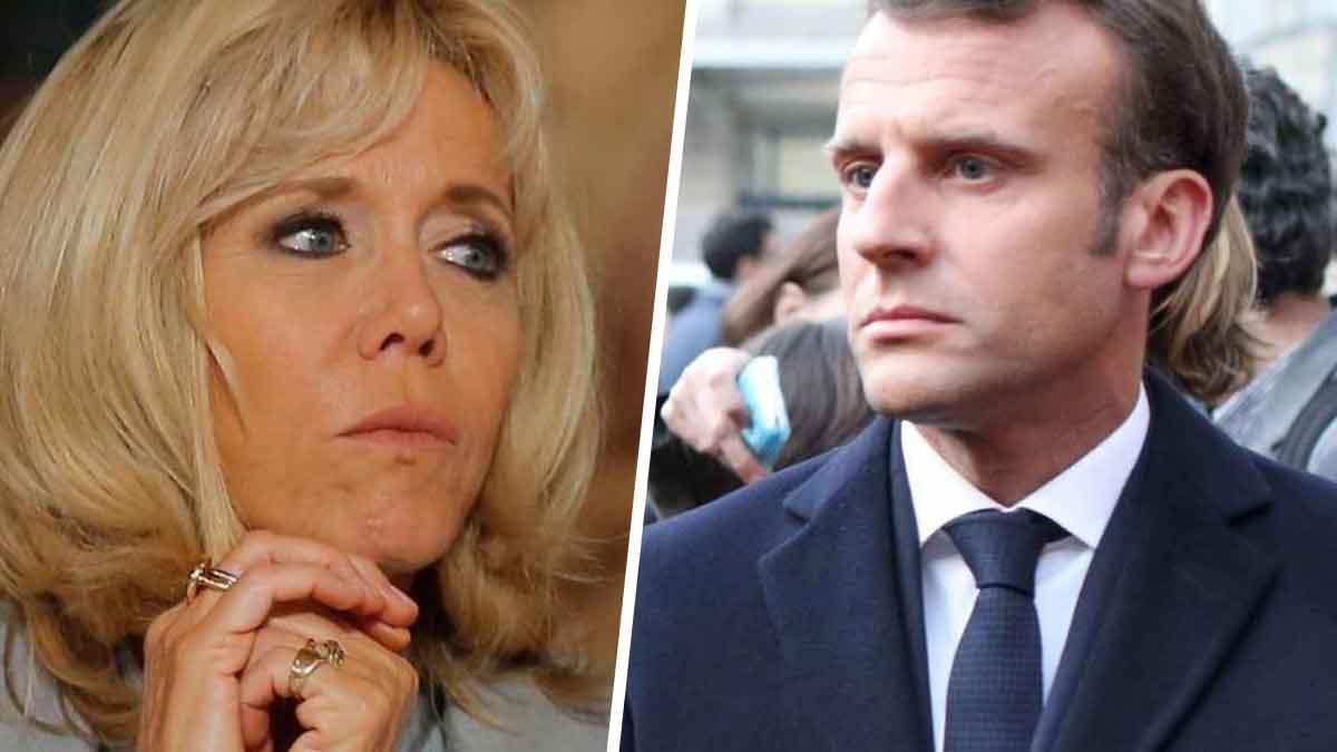 Brigitte Macron inquiète au sujet de son mari qui fait face à un drame !