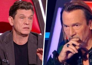 The Voice rien ne va plus entre les coachs, Florent Pagny et Marc Lavoine choqués par Le petit nouveau