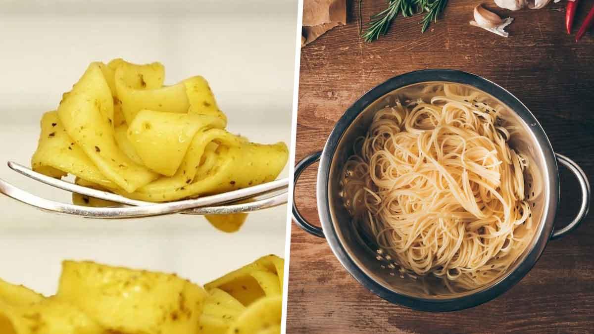 Cuire des pâtes sans eau cette technique fascinante et secrète des italiens pour des pâtes à la perfection