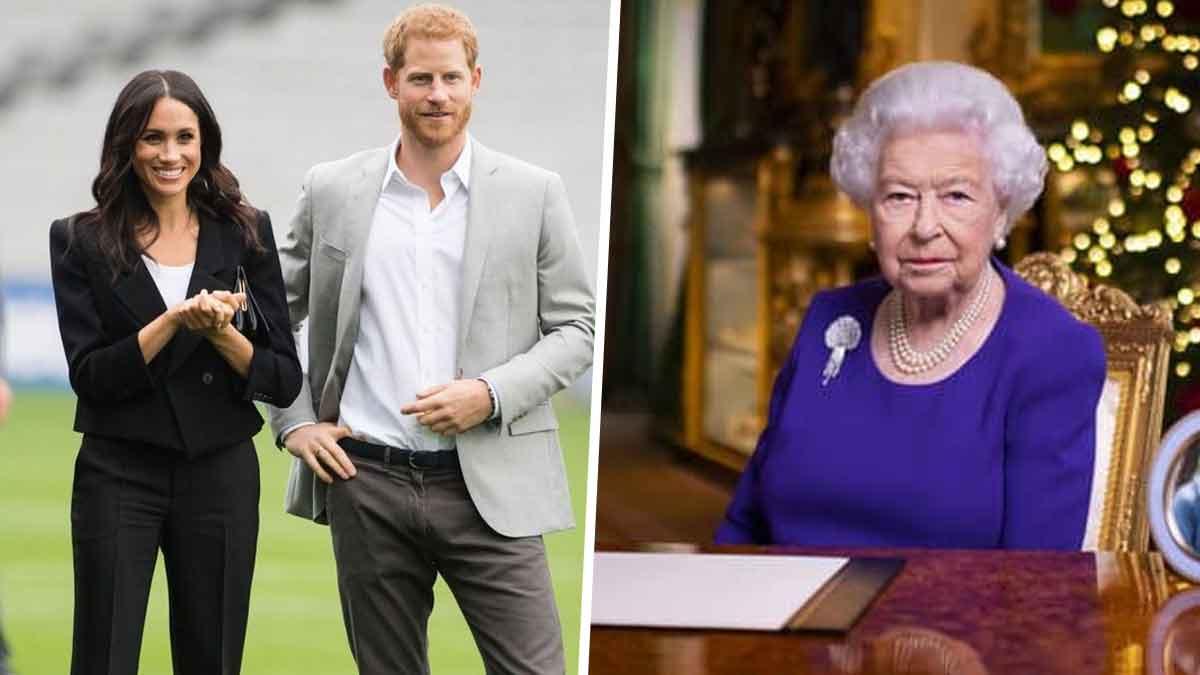 Harry et Meghan: destitués de leur titre royal par la reine ElisabethII, retour forcé à Londres