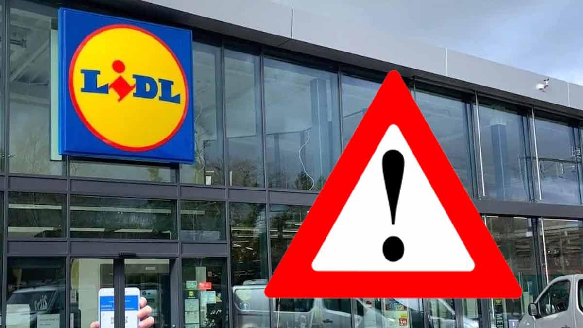 Lidl attention, ce produit vendu par le magasin est dangereux pour la santé