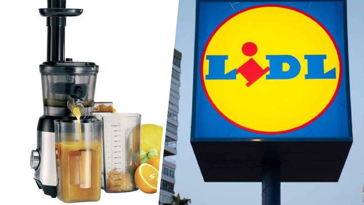 Lidl propose l'extracteur de jus le moins cher du marché, offre à ne pas rater !