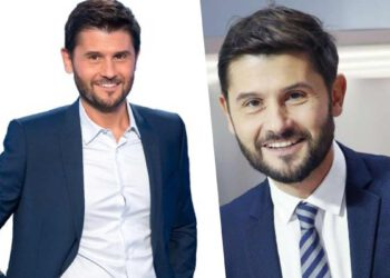 Christophe Beaugrand  violente altercation avec la police en direct de LCI