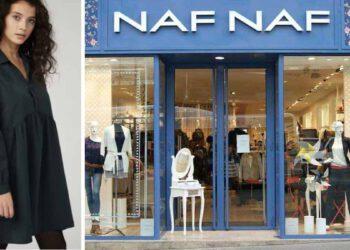 Naf Naf découvrez cette robe splendide et intemporelle à petit prix que toutes les femmes s'arrachent pour le printemps