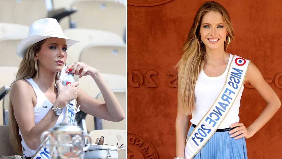 Amandine Petit ce très gros coup de chaud de Miss France à Roland-Garros