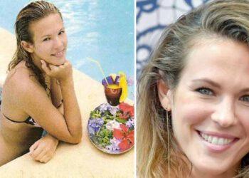 Lorie Pester se dévoile comme jamais en trikini au bord d'une piscine, les internautes en raffolent