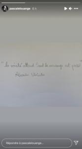 Richard Berryaccusé d'inceste par sa fille sa femme, Pascale Louange, poste un message énigmatique