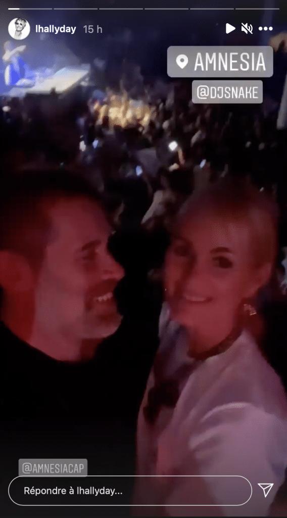 Laeticia Hallyday et Jalil Lespert s'envoient en l'air en boîte de nuit au Cap d'Agde, c'était chaud! Ça vaut le détour
