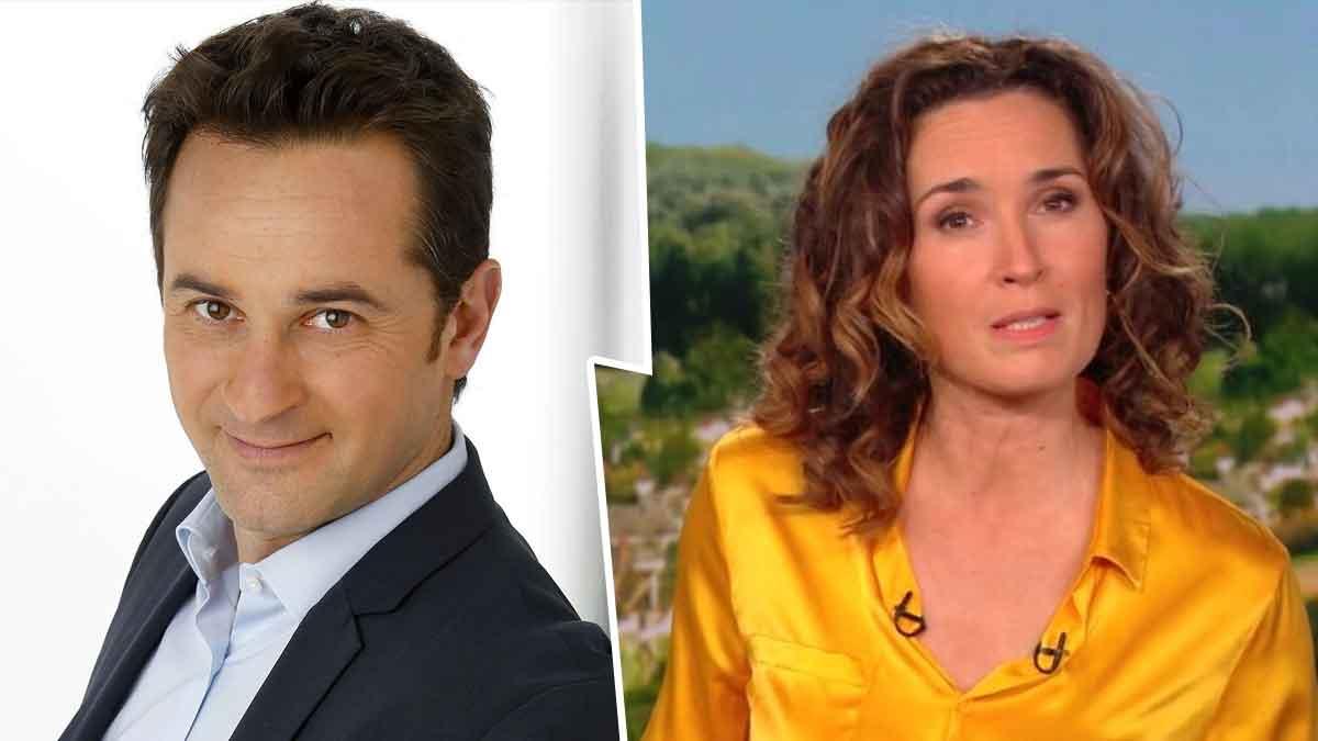 TF1 Marie-Sophie Lacarrau quitte l'antenne et dit au revoir aux téléspectateurs, Nathanaël de Rincquesen se réjouit
