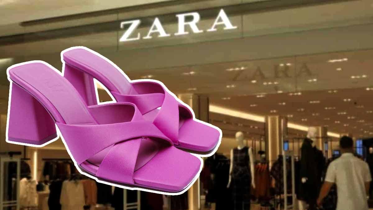 Zara ces nouvelles chaussures ultra stylés vendues à un prix cassé sont les stars de l'été