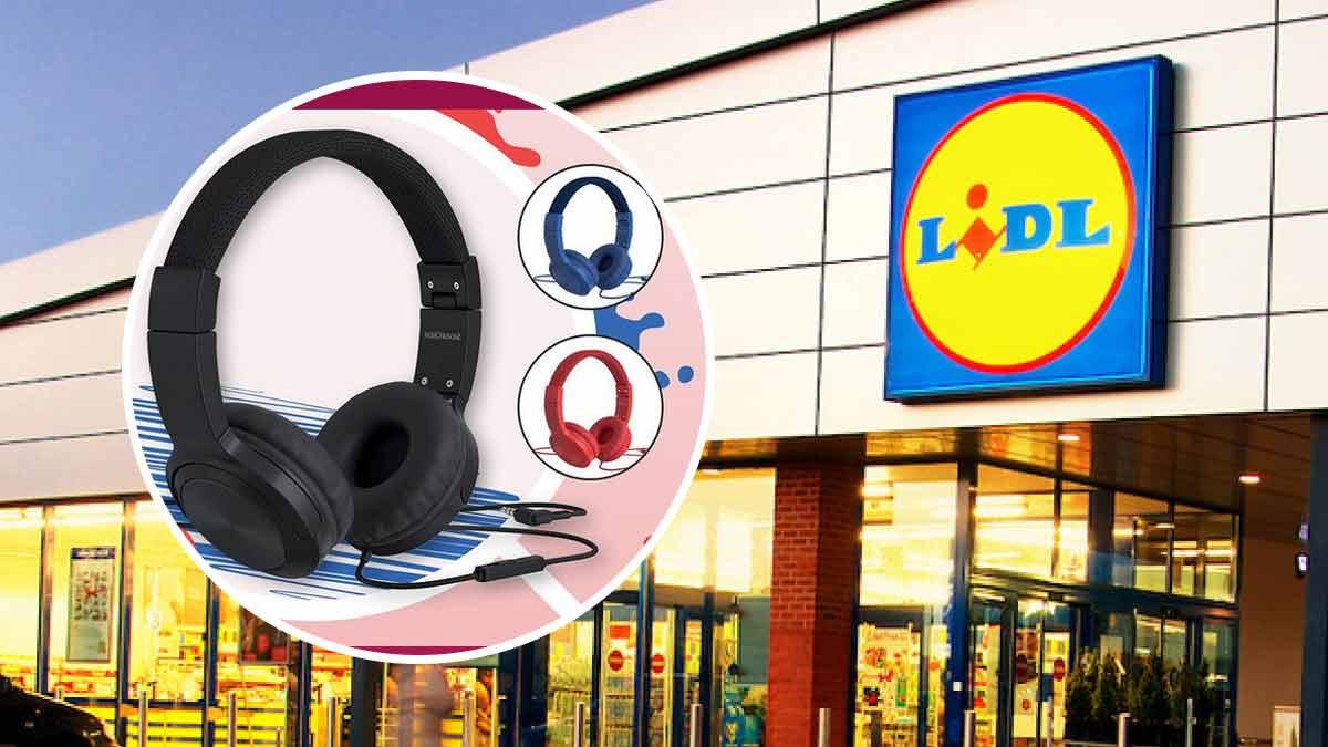 Lidl Casque audio à moins de 7 euros