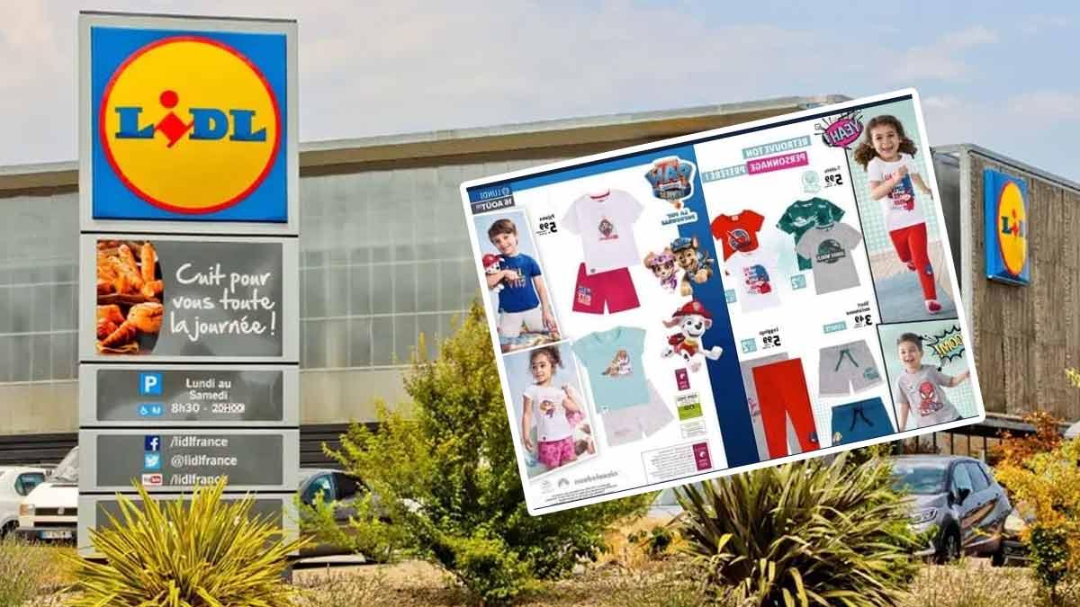Lidl sort une gamme de vêtement Miraculous