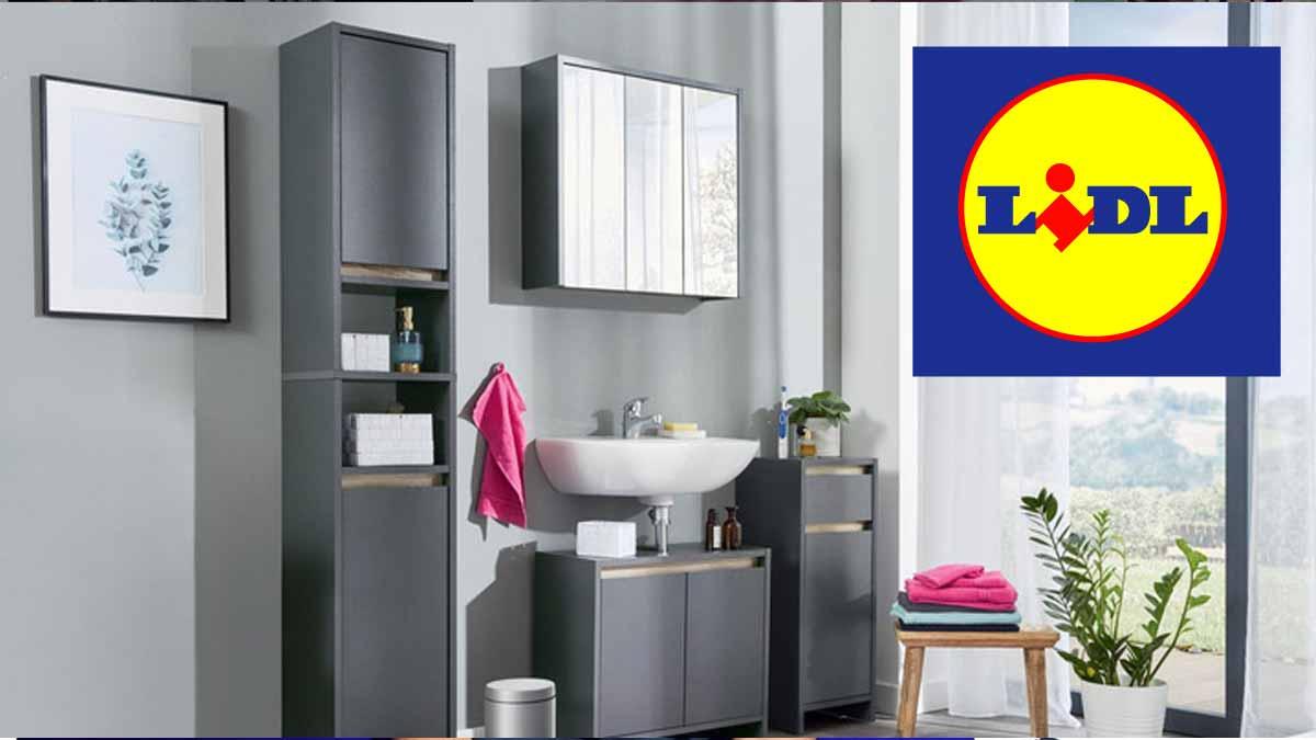 Lidl salle de bain à moins de 130 euros